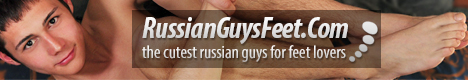 Welcome to Russian Guys Feet